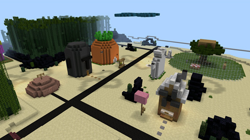 Bikini Bob Maps Minecraft PE Screenshot