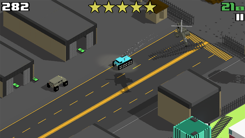 android Smashy Road: Wanted Screenshot 0