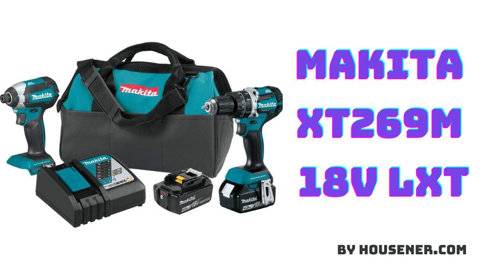Makita XT269M cordless drill