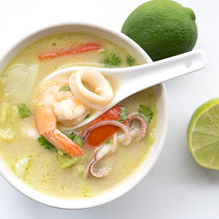 Thai Seafood Chowder Recipe