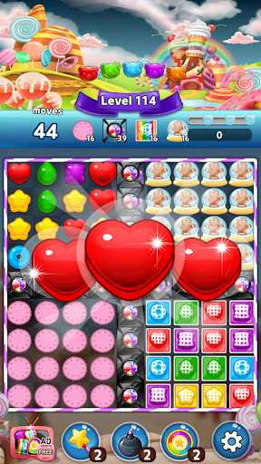 My Jelly Bear Story: New candy puzzle screenshots 1