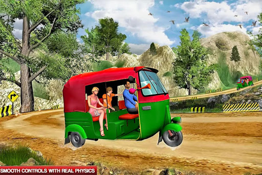 Mountain Auto Tuk Tuk Rickshaw : New Games 2020 screenshots 4