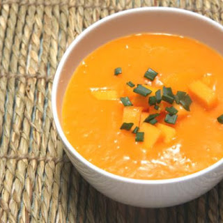 Chilled Mango Chipotle Soup