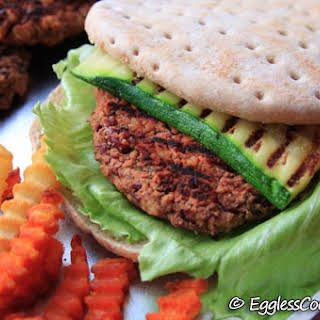 Vegan Kidney Bean Burgers.