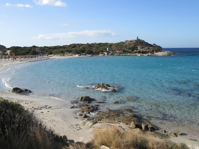 Spiaggia panoramica di Concas