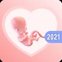 Pregnancy Tracker: Calendar & Due Date Calculator icon