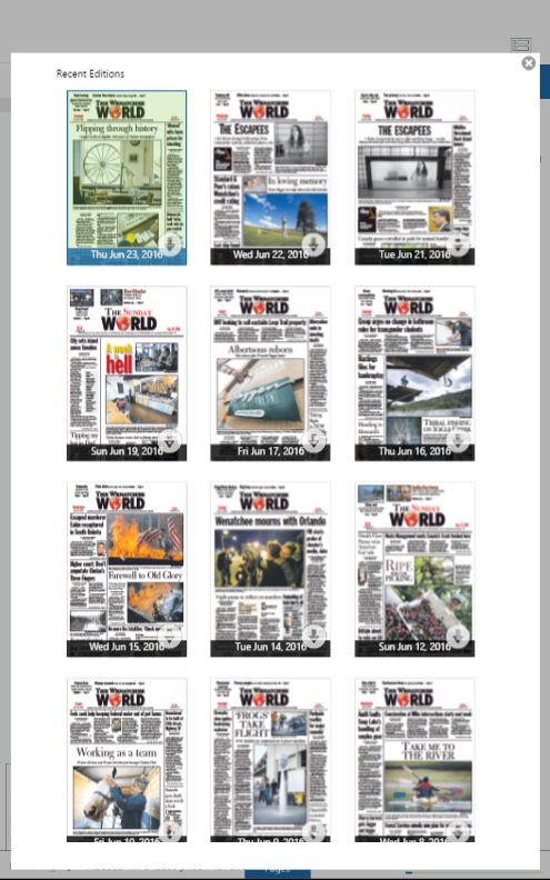The Wenatchee World Digital- screenshot
