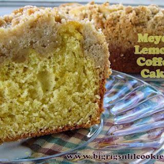 Meyer Lemon Coffee Cake.