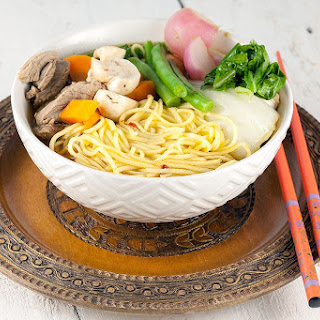 Asian Broth Noodle Soup Recipes