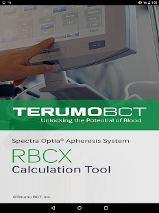 RBCX Calculation Tool- screenshot thumbnail