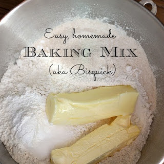 Homemade Bisquick Recipe, Baking Mix