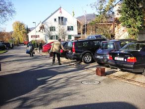 Photo: Parkplätze sind gesucht!