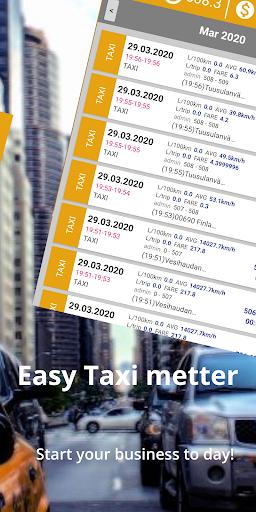 Taximeter & Working Hours Tracker : Cabidi screenshots 4