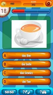Němec Slovník Kvíz Hra - náhled