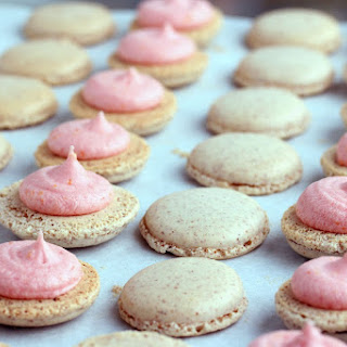 Blood Orange French Macarons