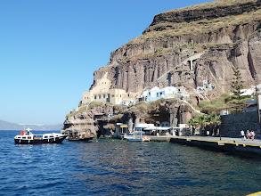 Photo: ancien port de Fira