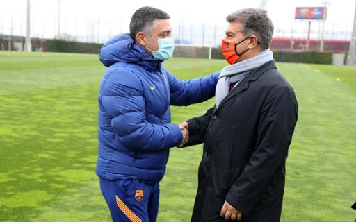 Barcelona fire highly-rated B team coach Garcia Pimienta in La Masia shake-up