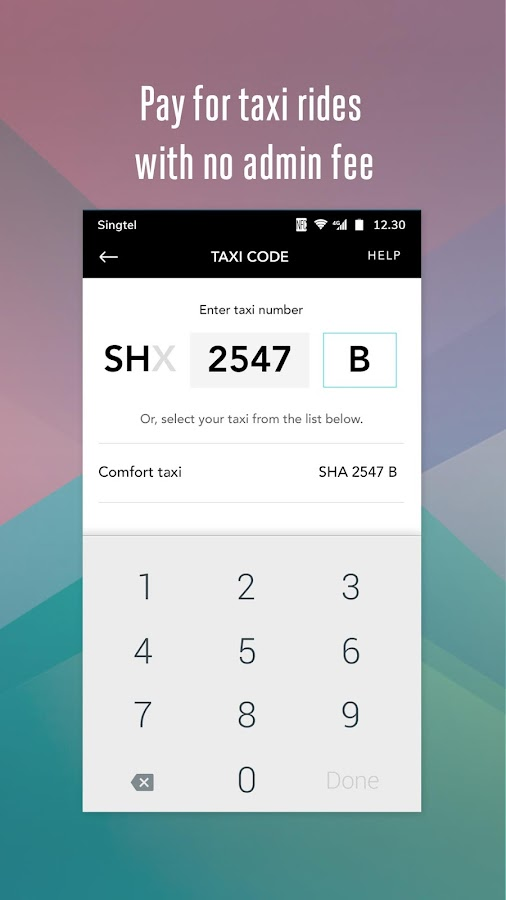 Singtel Dash- screenshot