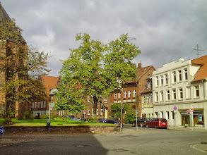 Photo: Bei der St. Johanniskirche.