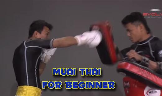 Muai Thai for Beginners - náhled