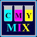 CMYK Mix Color scheme designer icon