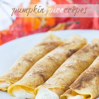 Pumpkin Spice Crêpes