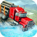 Offroad Cargo Truck Driving 2018: Hill Logging Icon