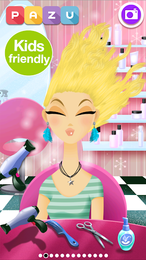 Image of Girls Hair Salon - Hair makeover game for kids 2.16 1