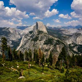 BEEAUTYYYY  (Glacier Point, Yosemite National Park, CA, USA)  by Sam's 1 Shot - Landscapes Mountains & Hills ( glacier, point, park, national, california, ice, cap, usa, yasomite )