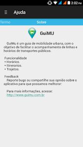 GuiMU - Guia Mobilidade Urbana screenshot 6