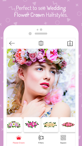 Wedding Flower Crown Photo 1.5 screenshots 3