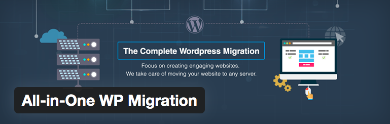 WordPress all-in-one migration plugin