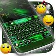 Green Flame Keyboard Theme