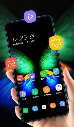 Theme for galaxyu00a0fold changeu00a0your smartphone FREE 1.0.2 screenshots 2