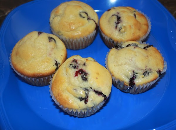 Blueberry And Lemon Muffins Recipe