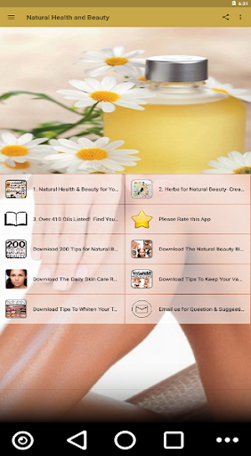 natural health and beauty for your body your skin screenshot 3