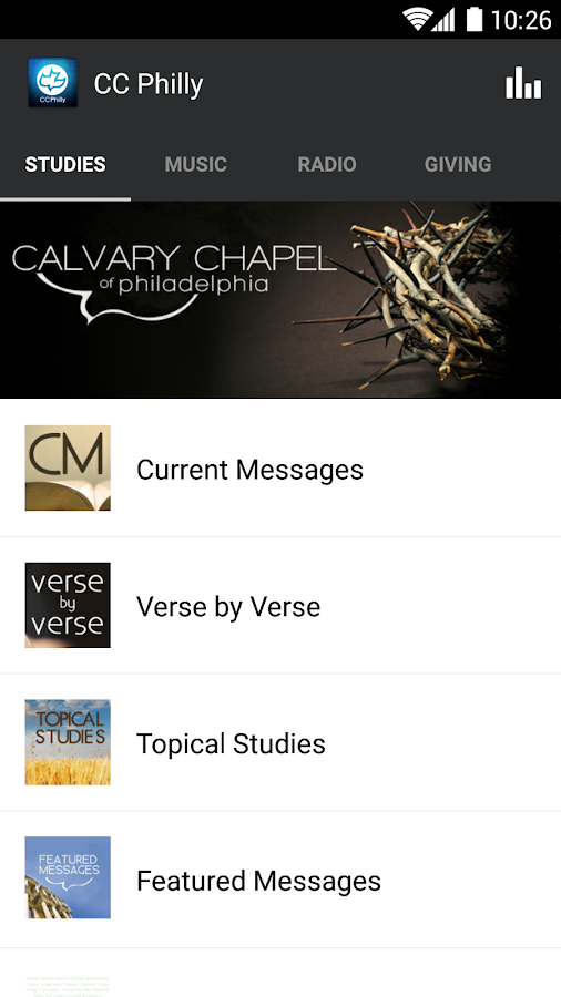Calvary Chapel of Philadelphia - screenshot