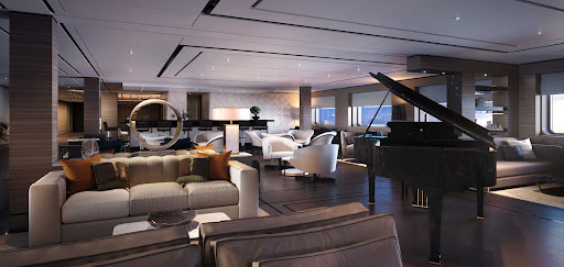 evrima-living-room-bar.jpg - The Living Room, the main gathering space on Evrima, includes a piano bar.