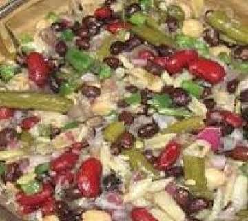 Heart Healthy Crunchy Bean Salad