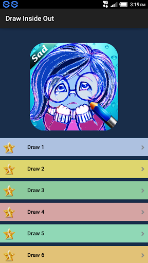 Draw Inside Out Cartoons