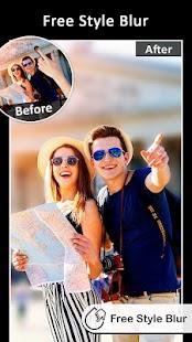 DSLR-Unschärfe-Effekte: Foto-Fokus Screenshot