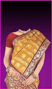Pattu Saree Photo Suit screenshot 13