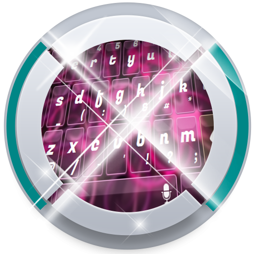 Pink Glass TouchPal Theme 個人化 App LOGO-硬是要APP