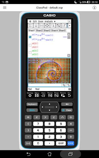 CASIO ClassPad 1.0.5 Windows u7528 1