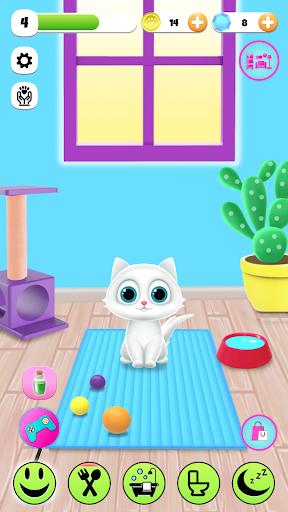 PawPaw Cat | Mon ami chat virtuel qui parle  captures d'écran 1