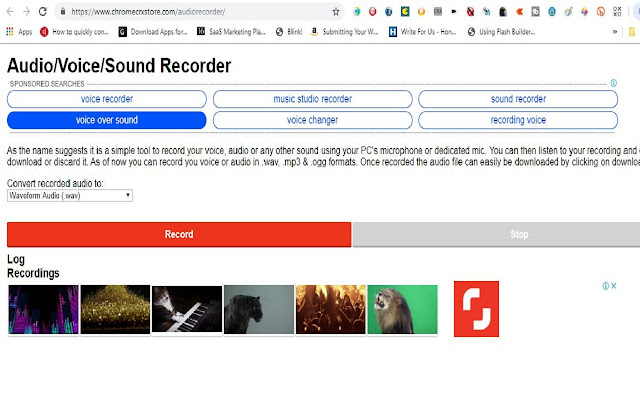 Simple Audio Voice Sound Recorder