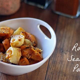 Oven Roasted Seasoned Potatoes #paleo #gluten-free