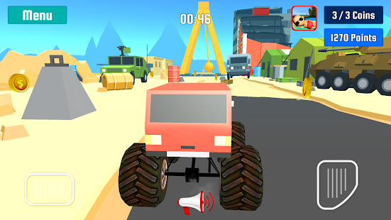 Monster Truck Stunt Speed Race by Kaufcom- screenshot thumbnail