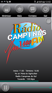 Radio Campinas AM: miniatura da captura de tela