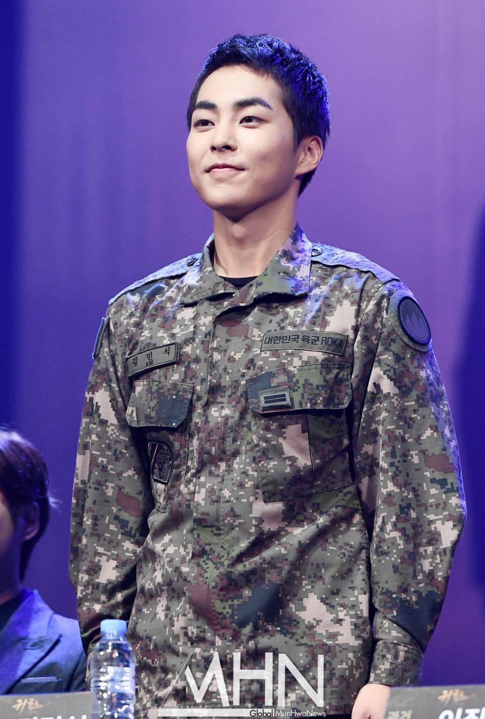 exo xiumin 2019 army 5